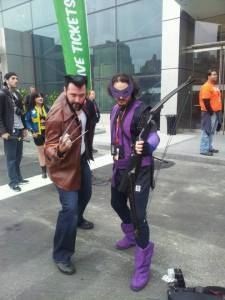 wolverine and hawkeye