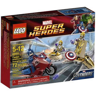 Lego Marvel Avengers set #6865