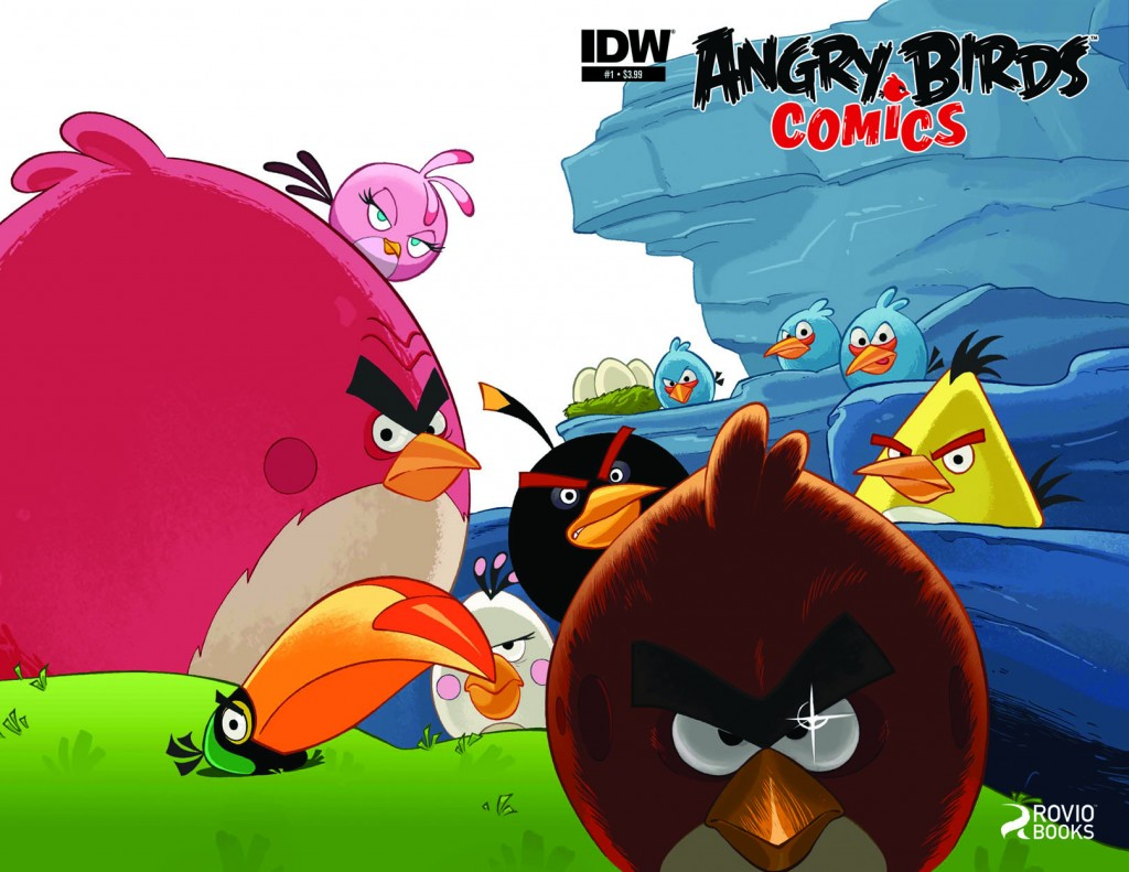 Angry Birds Smashes Into Comic Shops This Summer What