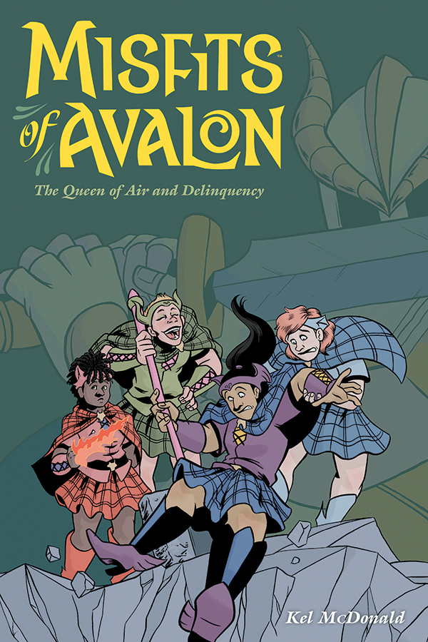 Kel McDonald's Misfits of Avalon comes to Dark Horse and the web?