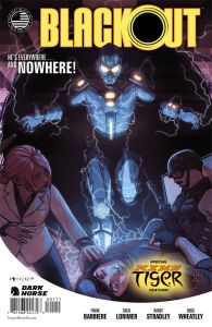 Preview/Review Blackout # 1 from Dark Horse - Needs more Ditko...