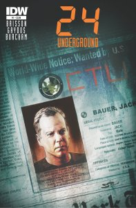 Jack Bauer Returns! New IDW Comic & 24: Live Another Day on FOX!