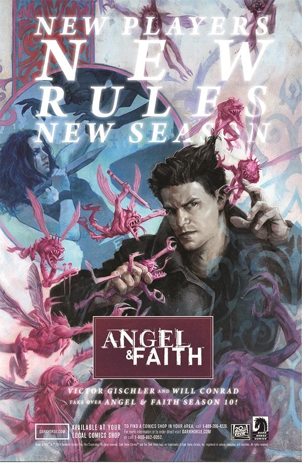 Preview Angel & Faith Season 10!