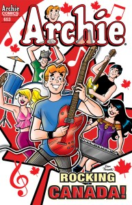 Archie Comics on the Stands March 12th!