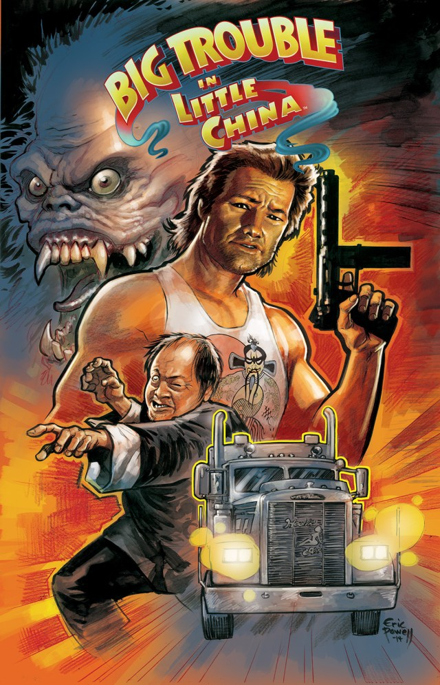 This June! BIG TROUBLE IN LITTLE CHINA! Order Yours Now!