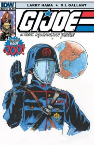 Preview G.I. Joe: A Real American Hero #200! On Stands March 26th!