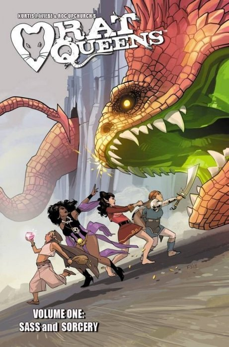 These ain't no ladies, these are RAT QUEENS.