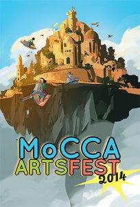 In NYC? Then Go To The 2014 MoCCA Arts Festival on April 5th & 6th!