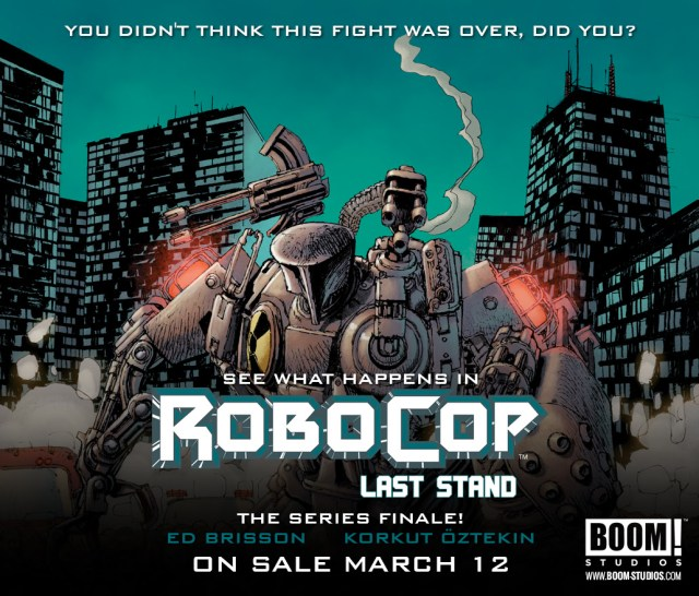 Preview Robocop: The Last Stand - Final Issue!