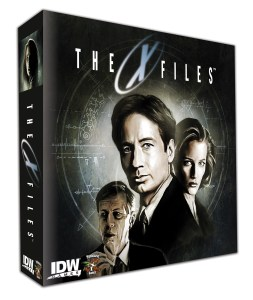 X-Files Board Game? Yup, from IDW and Pandasaurus Games