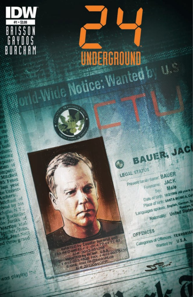 Preview! 24 - Underground #1 on Sale 4/23