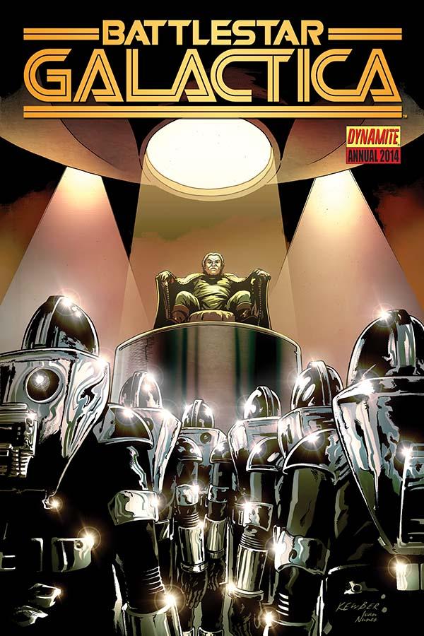 The Origin of Baltar - Finally! In Dynamite's Battlestar Galactica 2014 AnnualThe Origin of Baltar - Finally! In Dynamite's Battlestar Galactica 2014 Annual