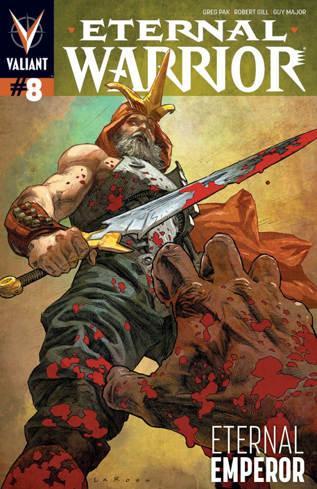 Preview Eternal Warrior #8 - Witness the End of an Emperor!