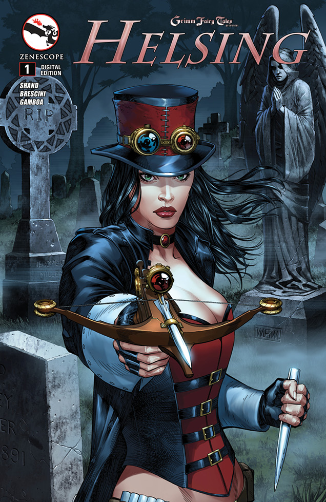 Zenescope's Helsing #1, A Good Read! On Sale April 23rd!