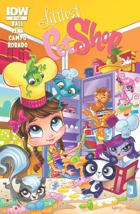 Littlest Pet Shop Comes to IDW in May!