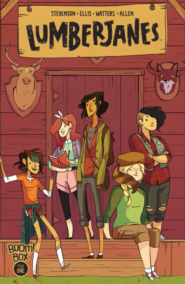 Lumberjanes #1 - The Series Every Girl Needs in Her Backpack!
