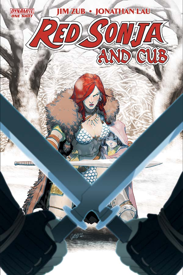 Red Sonja Goes Manga with Red Sonja and Cub