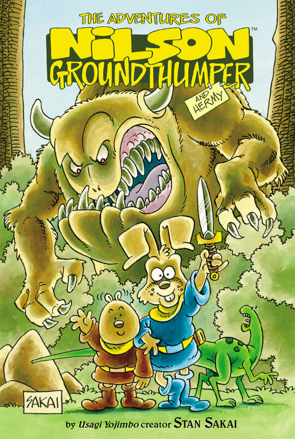 Stan Sakai's Nilson Groundthumper & Hermy - introduce your kids to manga today!