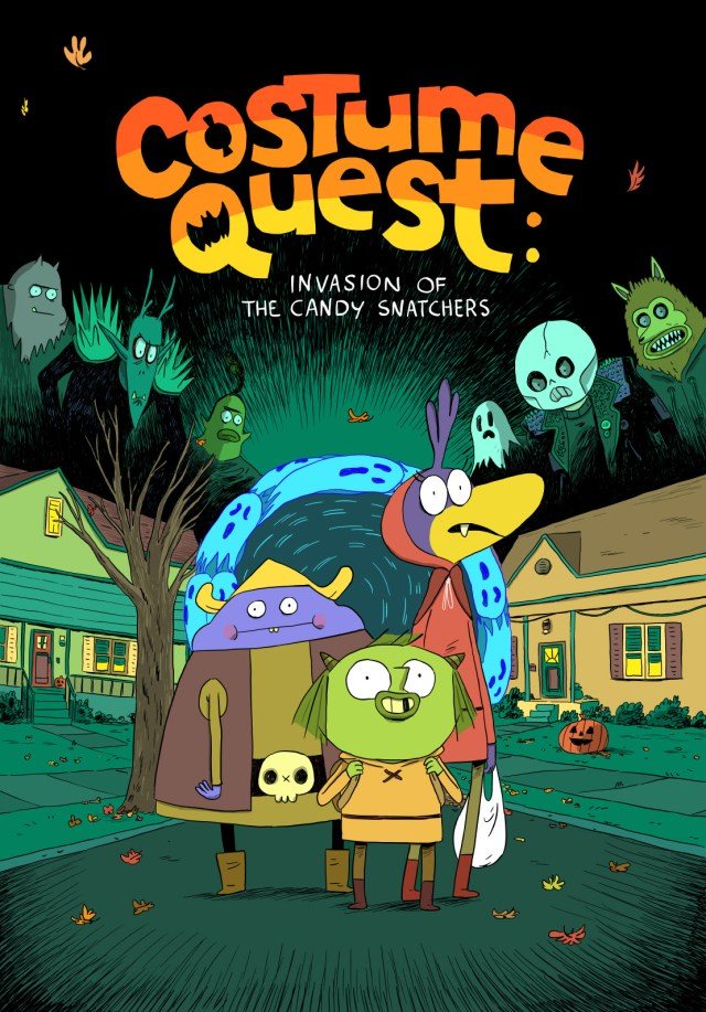 Double Fine and Oni Press Team Up with Zac Gorman to Bring COSTUME QUEST to Comics!