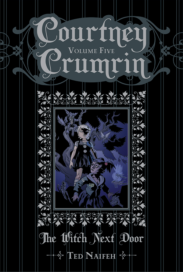 Like Coraline? You need to read Oni's Courtney Crumrin!