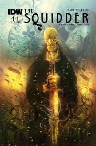 Ben Templesmith's New Series The Squidder is Coming to IDW in July!