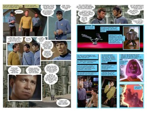 IDW Star Trek Strange New Worlds John Byrne photo-comic pages 3