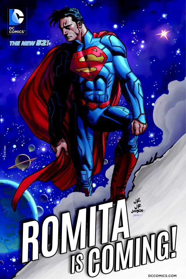 John Romita Jr. - Why Marvel's Main Man is a perfect for Superman and DC Comics!