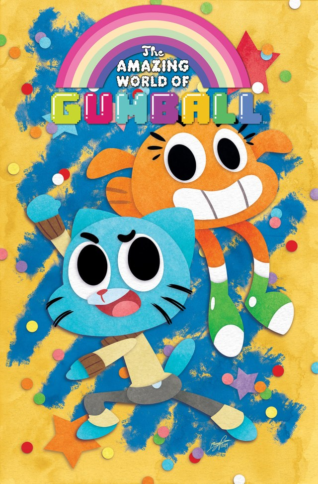The Amazing World of Gumball Comes to KaBOOM! with an Ongoing Series
