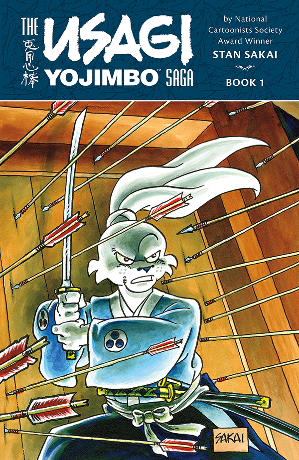 Usagi Yojimbo is back!
