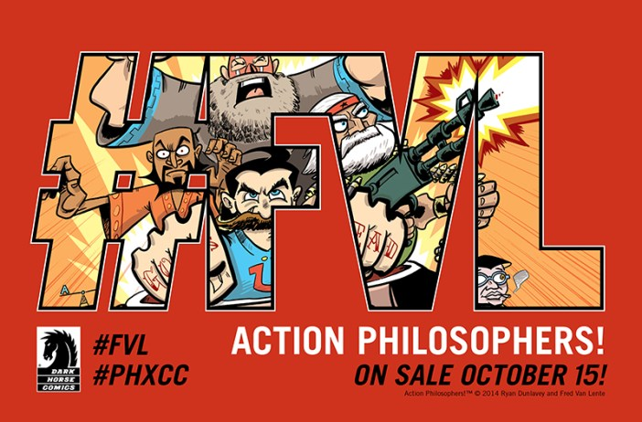 Action Philosophers! October 15th! Dark Horse!