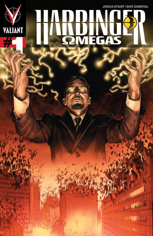 Harbinger: Omegas #1 - Valiant's Evolution continues!