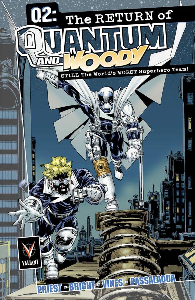 Q2: The Return of Quantum & Woody! This October!