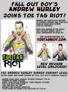 Fall Out Boy's Andy Hurley Joins Toe Tag Riot!