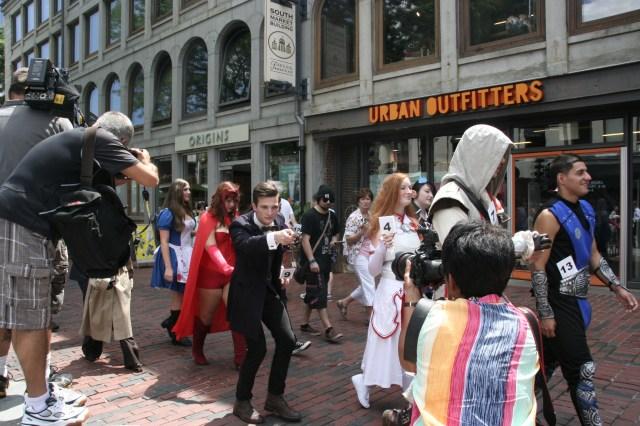 Boston Comic Con Kicks Off With The 2nd Annual Costume Contest!