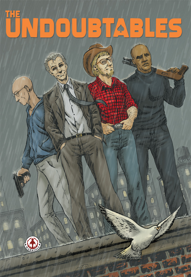 Preview/Review - The Undoubtables - Solid Indie Heist Comic