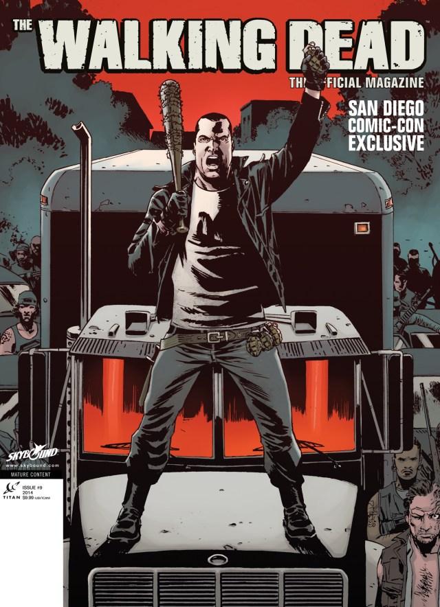 Exclusive San Diego Comic Con Walking Dead Magazine Cover!