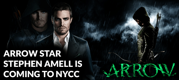 Arrow's Stephen Amell Coming to NYCC!