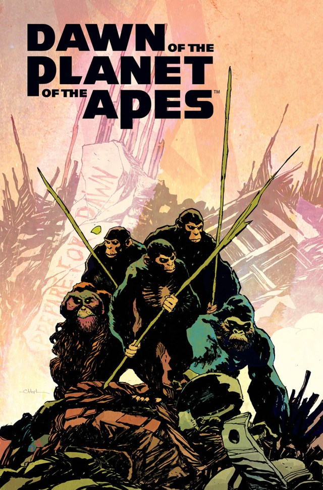 "Boom! Studios Partners with Twentieth Century Fox for ""Dawn of the Planet of the Apes"" Tie-ins"