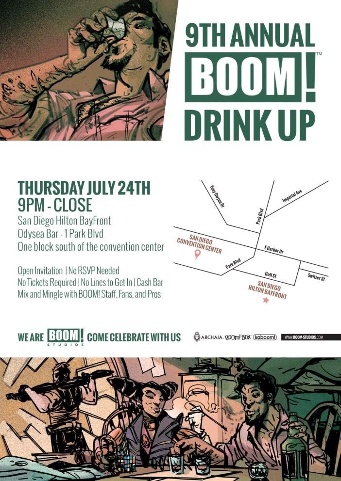 Boom! Studios Invades San Diego Comic Con!