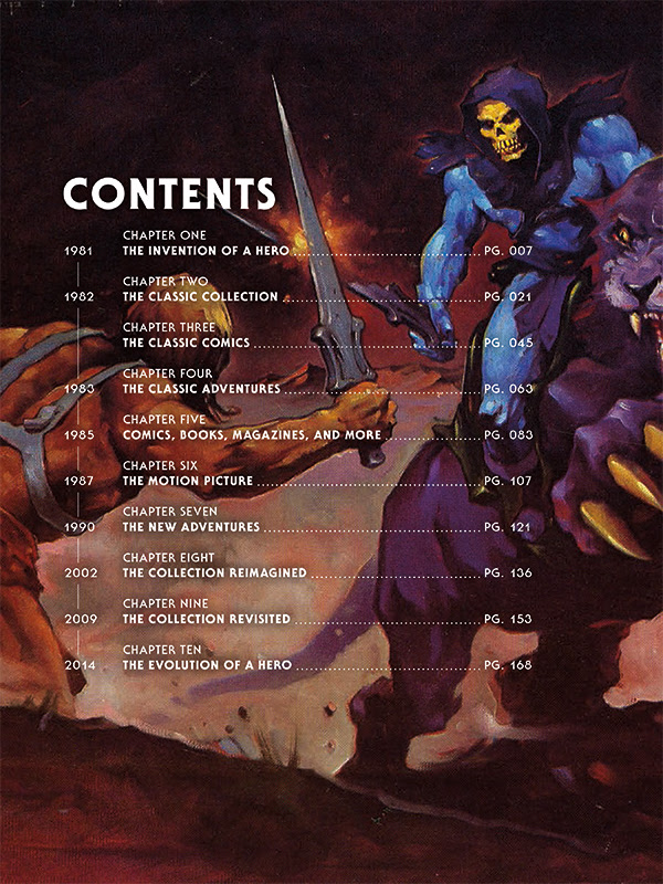 he man contents