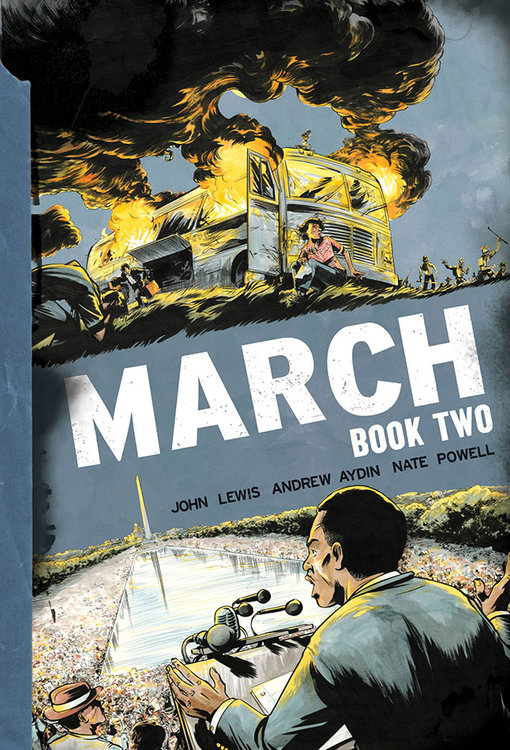 March: Book Two Cover Revealed!