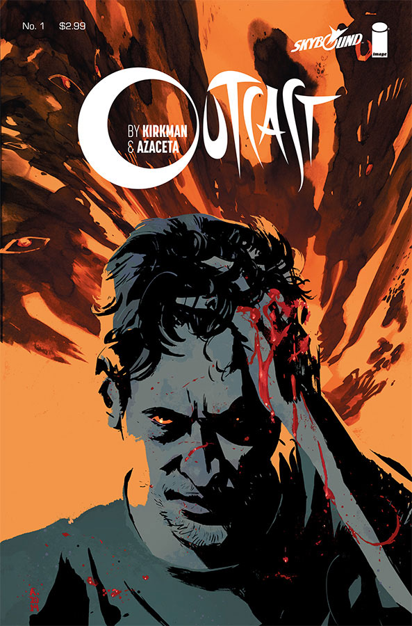 Outcast #1 Re-cap and Review- Kirkman and Azaceta are out for your soul!!