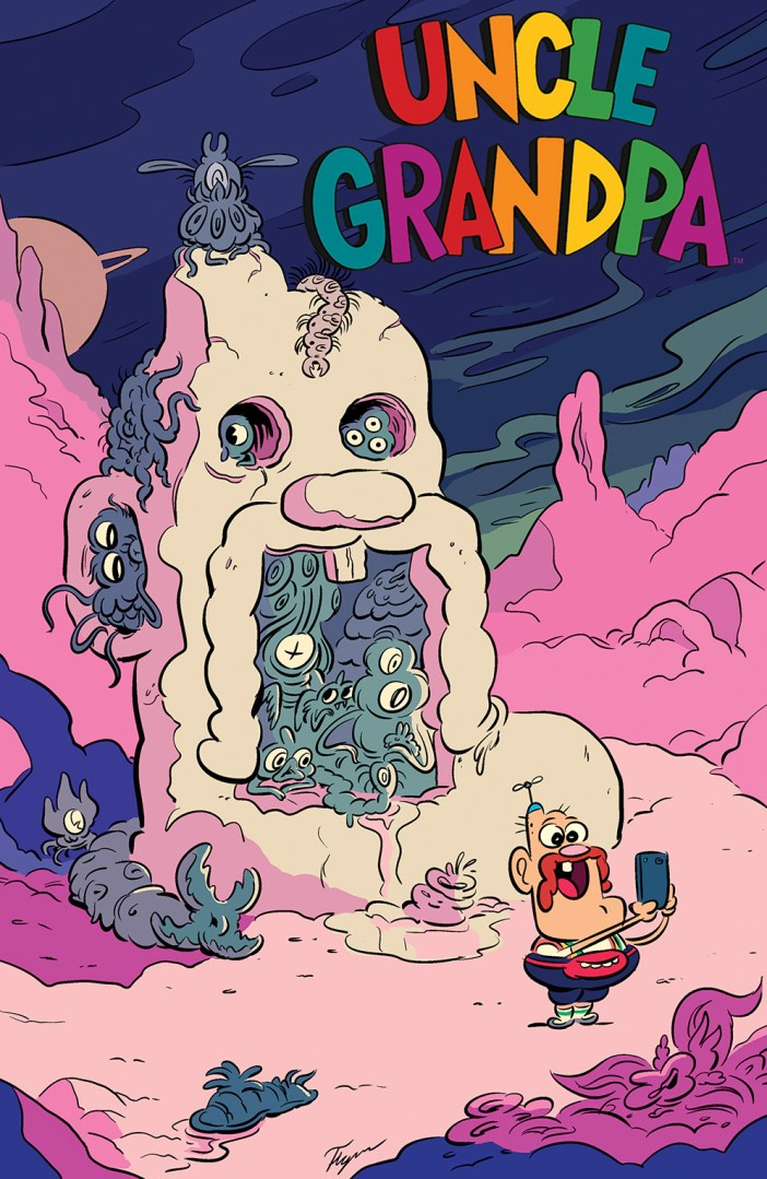 Kaboom!'s October Solicits - Uncle Grandpa is Coming!
