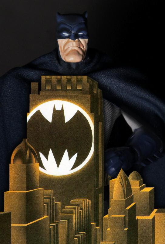Mezco Reveals New 6 Inch Cloth Clothed Figures! Batman! Judge Dredd!