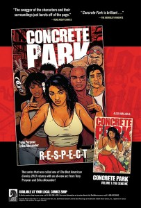 Preview Concrete Park #1! Dark Horse Comics!