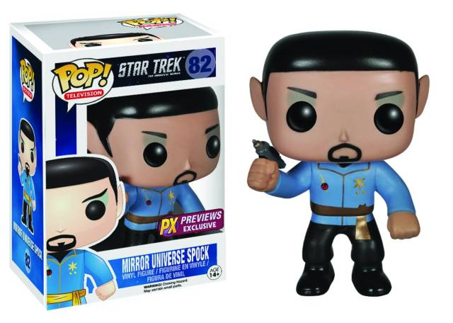 Pre-Order Your Mirror Mirror Spock POP! Figure!!!