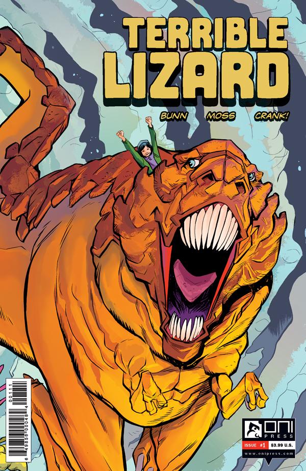 Terrible Lizard! This Fall - Cullen Bunn & Oni Press