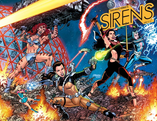 'George Perez's Sirens' Comes to Boom!