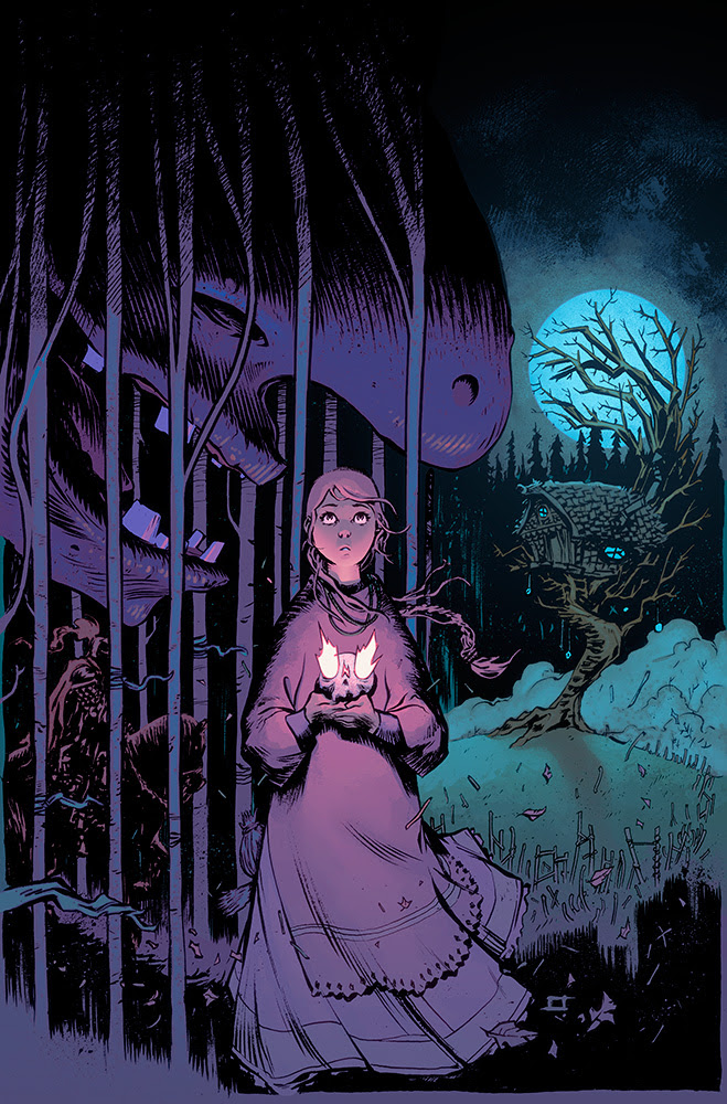 JIM HENSON'S THE STORYTELLER: WITCHES #4 Cover by Jeff Stokely: Coming in December
