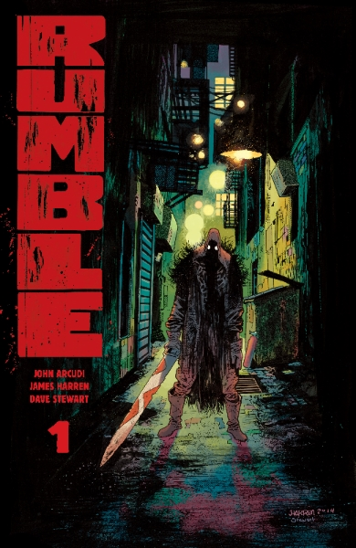 Get Ready For a 'Rumble' - This December from Image Comics!